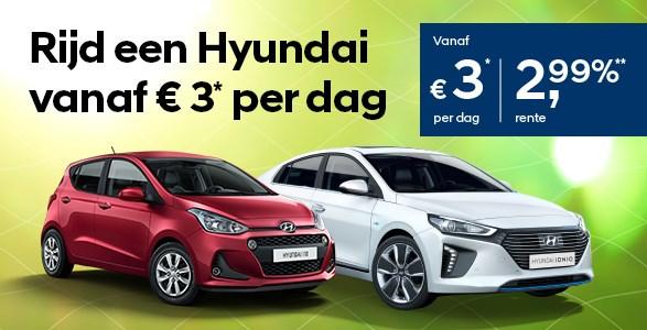 voorjaar, rente, actie, Hyundai