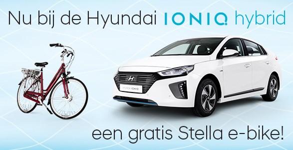 IONIQ hybrid gratis stella e-bike actie