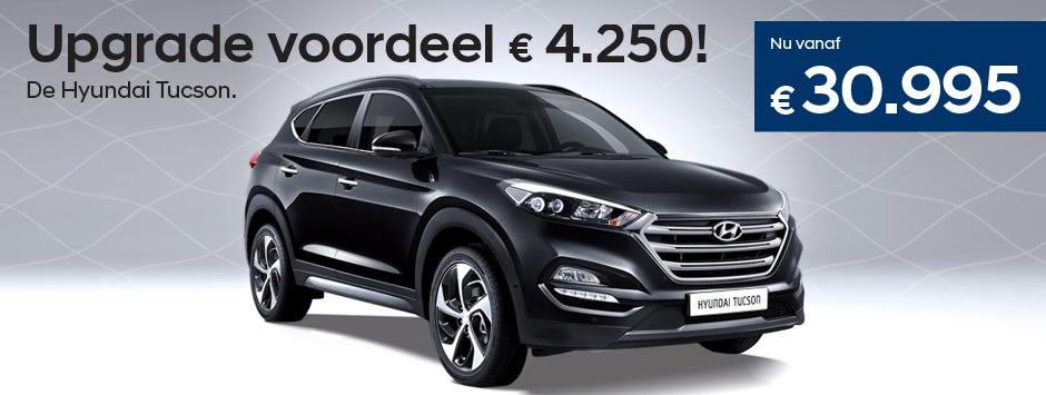 Hyundai Tucson upgrade actie