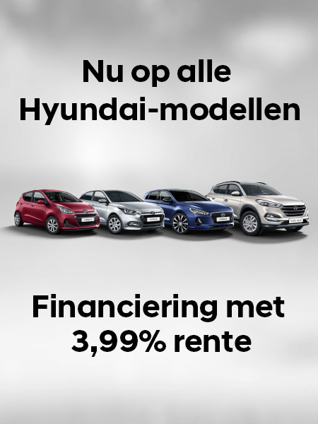 Stap nú in een gloednieuwe Hyundai