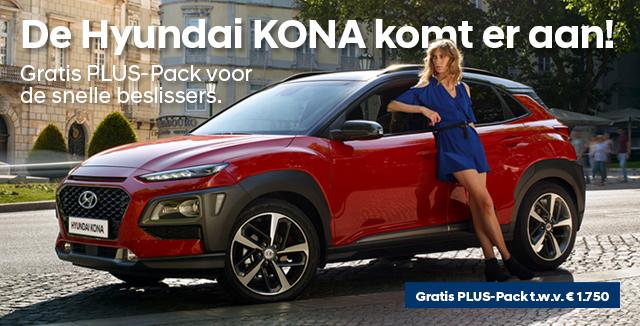 Hyundai KONA: spetterende introductie aanbieding