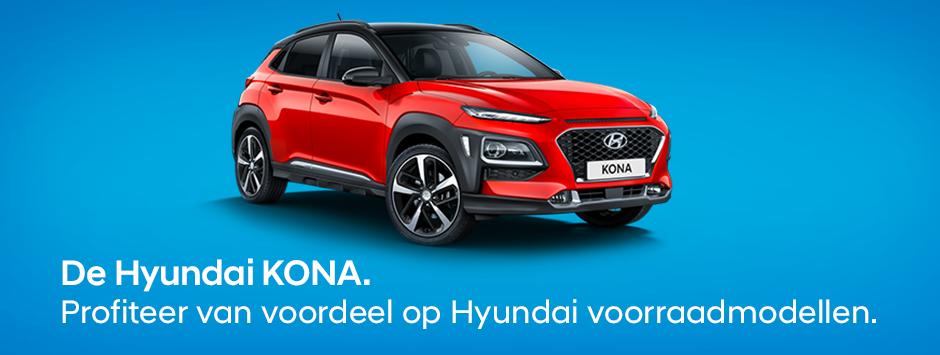 Hyundai Kona voorraadmodellen