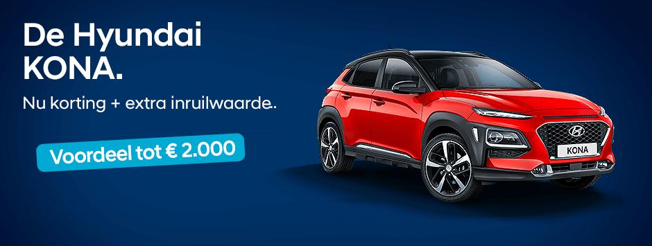 Hyundai Kona verdubbel je voordeel