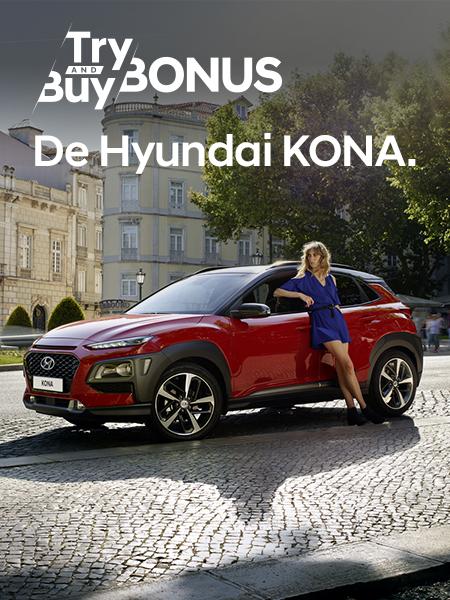 Aanbiedingen Hyundai KONA