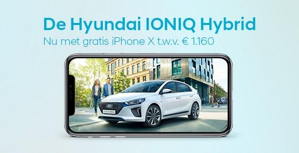 i-phone, actie, hyundai, IONIQ, Hybrid