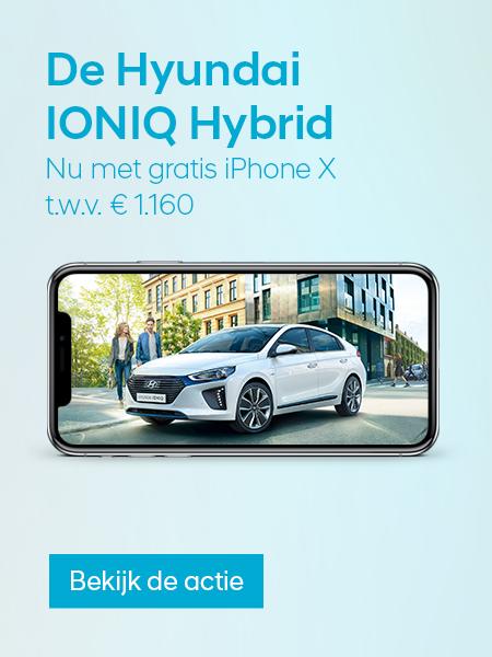 Tijdelijke Hyundai IONIQ Hybrid-actie!