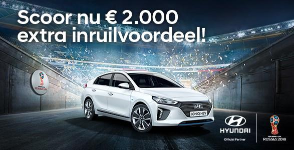 Hyundai IONIQ Hybrid inruilvoordeel WK actie