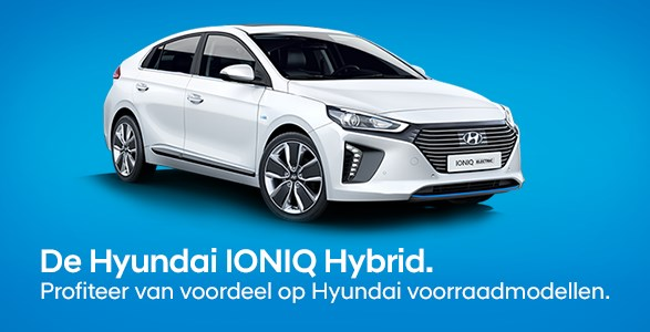 Hyundai IONIQ voorraadmodellen
