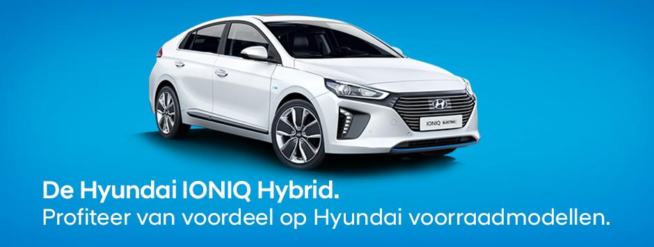Hyundai IONIQ Hybrid voorraadmodellen