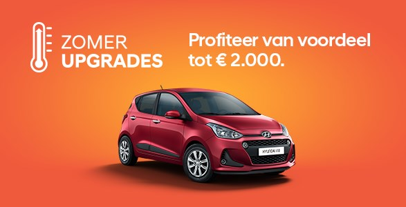 Upgrades, Hyundai, i10, zomerkorting