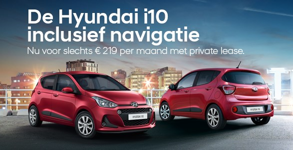 private lease, Hyundai, i10, actie