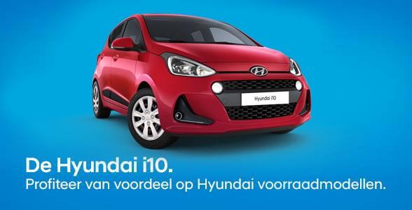 Hyundai i10 voorraadmodellen