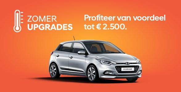 Hyundai, i20, actie, zomerkorting, upgrade