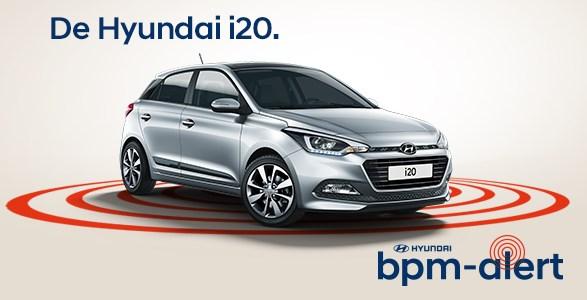 Hyundai i20 bpm alert