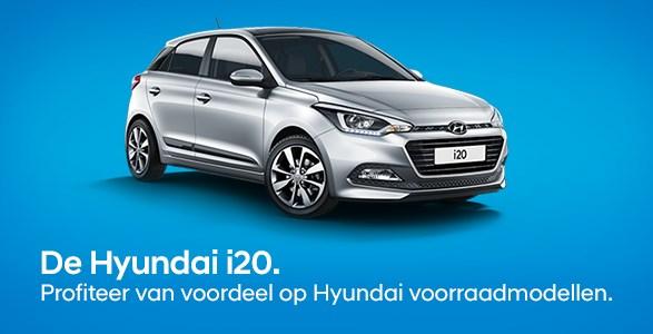 Hyundai i20 voorraadmodellen