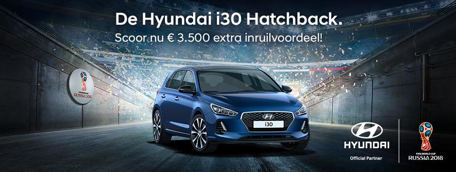 Hyundai i30 inruilvoordeel WK actie