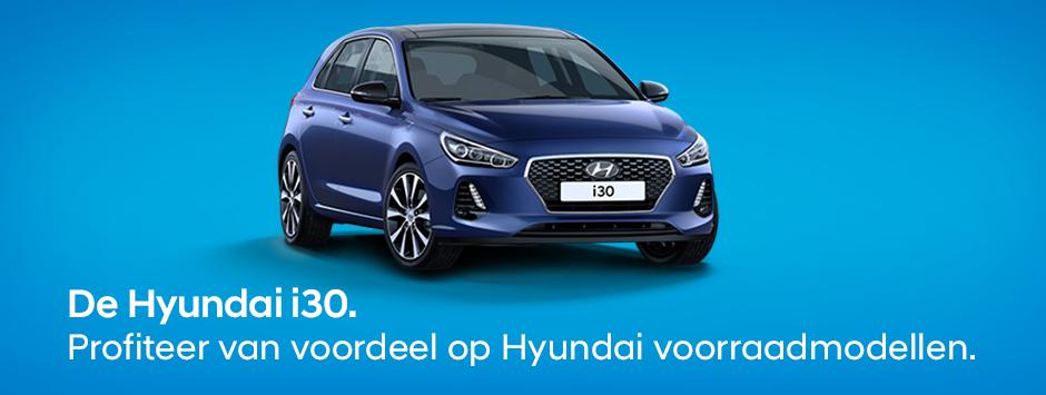 Hyundai i30 voorraadmodellen