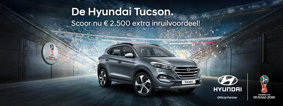 Hyundai Tucson inruilvoordeel