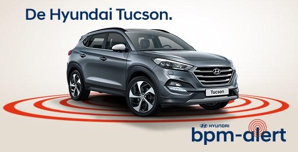 Hyundai Tucson bpm alert