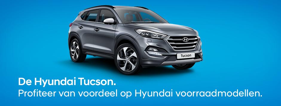 Hyundai Tucson voorraadmodellen