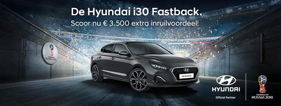Hyundai i30 fastback inruilvoordeel