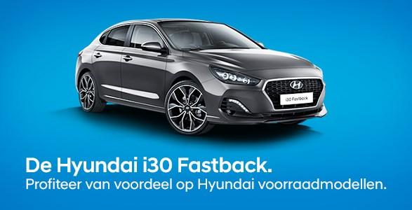 Hyundai i30 fastback voorraadmodellen