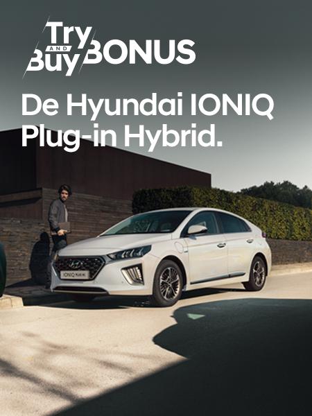 Aanbiedingen Hyundai IONIQ Plug-In Hybrid
