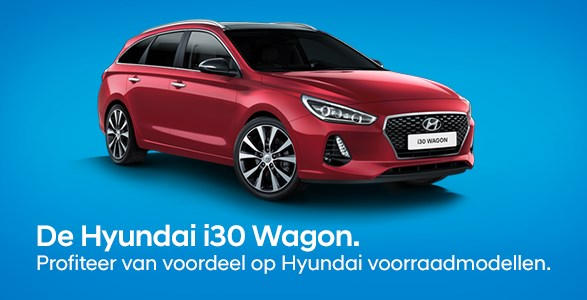Hyundai i30 wagon voorraadmodellen