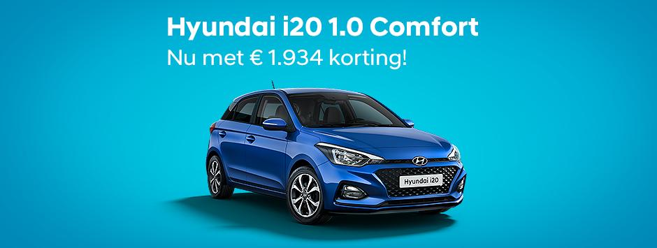 Hyundai i20 met € 1.934 korting