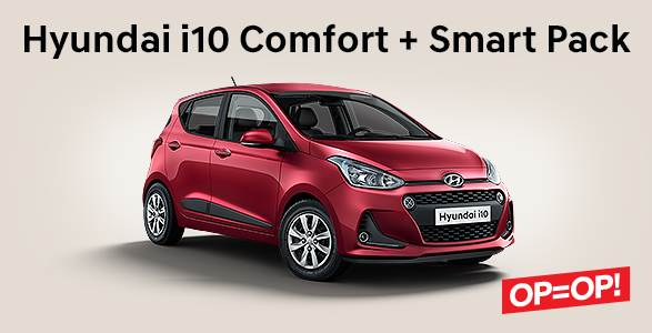 Hyundai i10 Comfort + Smart Pack