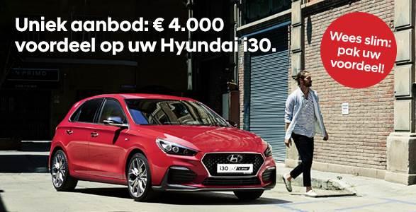 Hyundai i30 met € 4.000 voordeel