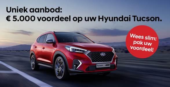 Hyundai Tucson met € 5.000 voordeel