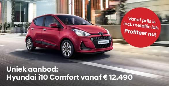 Hyundai i10 rijklaar vanaf € 12.490