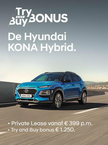 Aanbiedingen Hyundai KONA Hybrid