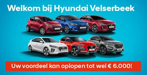 Tot € 6.000 voordeel op uw Hyundai.