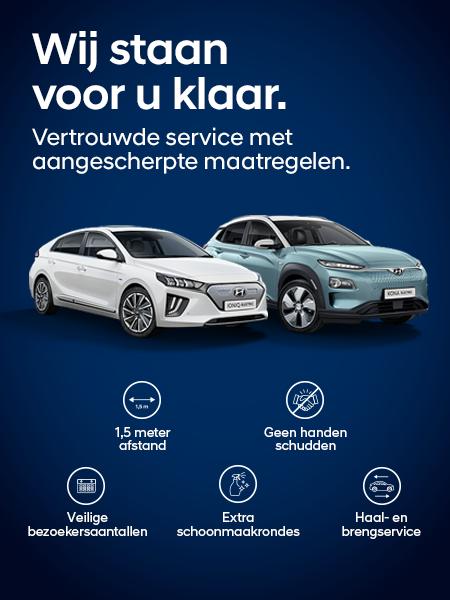 Corona-maatregelen: Service en bereikbaarheid Hyundai