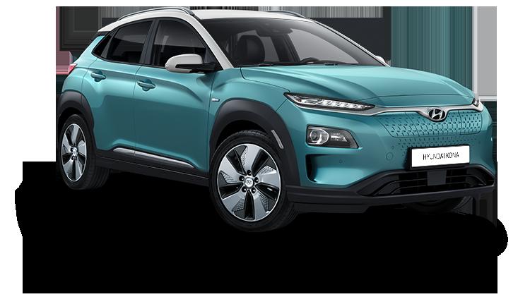 Hyundai KONA Electric vrijstaand