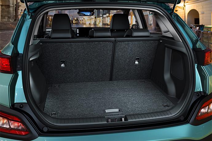 Hyundai KONA Electric bagageruimte