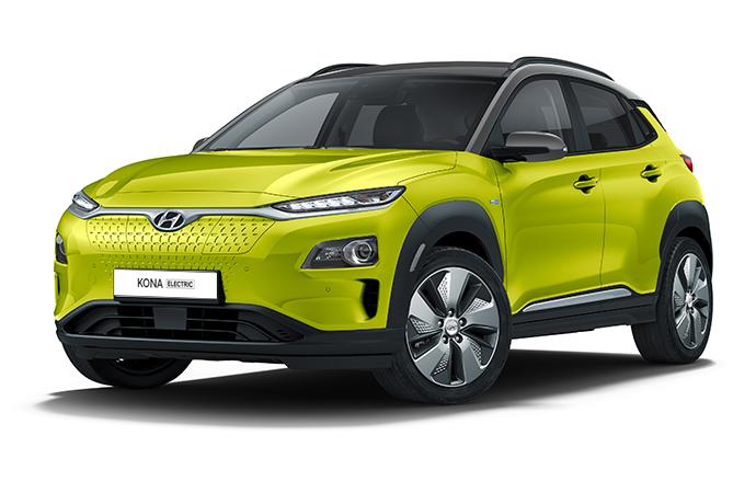 Hyundai KONA braking