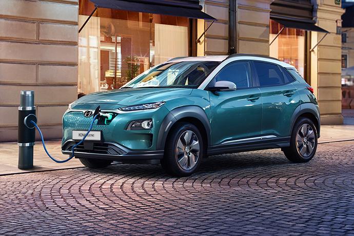 Hyundai KONA Electric opladen