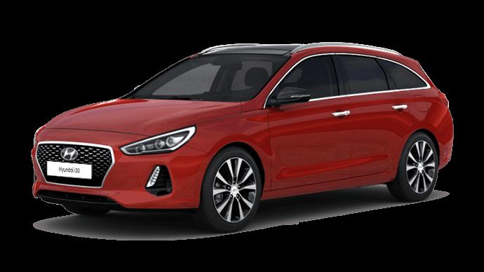 Hyundai i30 Wagon vrijstaand