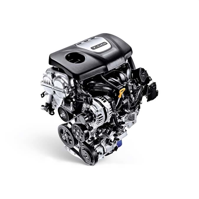1.0 T-GDi motor - Hyundai Fastback