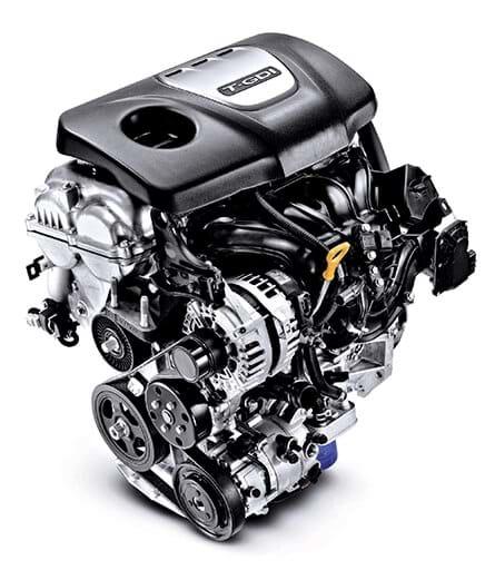 1.4 T-GDi motor - Hyundai Fastback