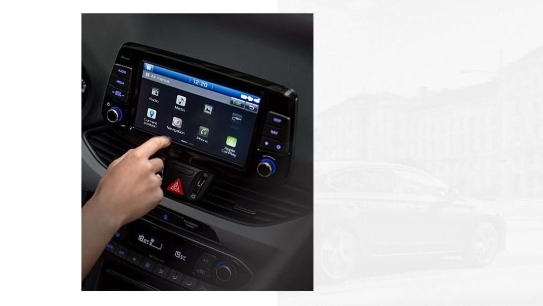 Touchscreen navigatie en meer