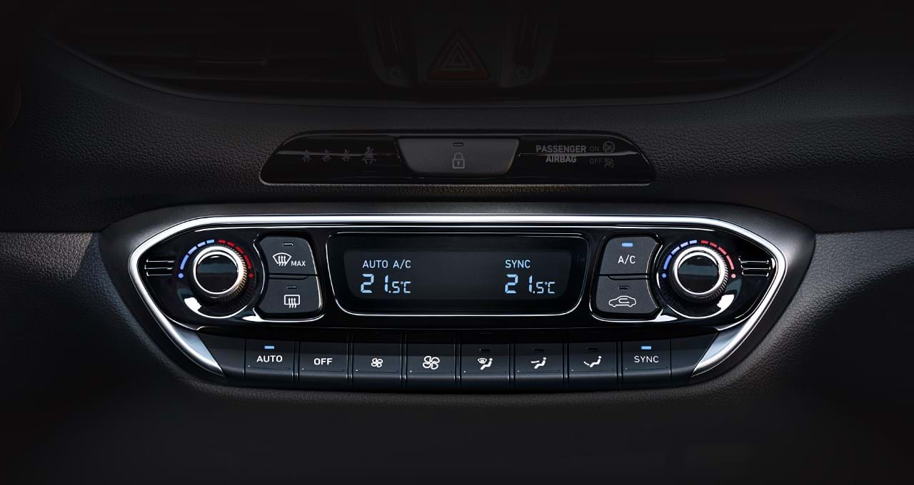 Twee zones airconditioning - i30 Fastback