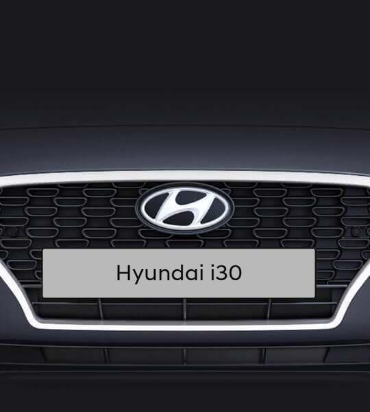 Auto grille van Hyundai i30 Fastback