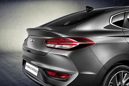 Hyundai i30 Fastback - detail foto achterkant