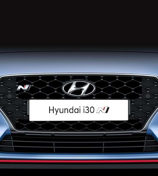 Auto grille van Hyundai i30 N