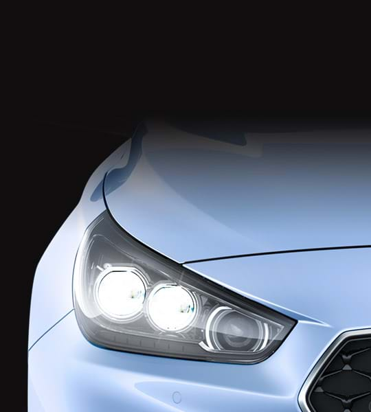 Verlichting voorkant Hyundai i30 N