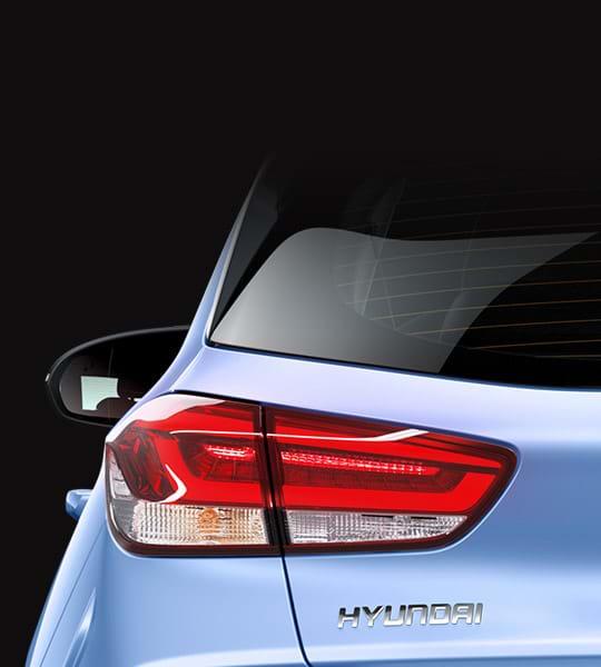 Achterlichten Hyundai i30N